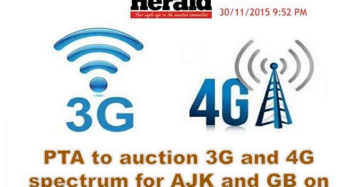 Pakistan Telecommunication Authority (PTA) to auction 3G and 4G spectrum for Gilgit-Baltistan this year.