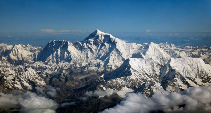 Height of the world's tallest peak under question