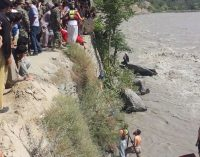 Seven killed as jeep plunges into  Chitral river
