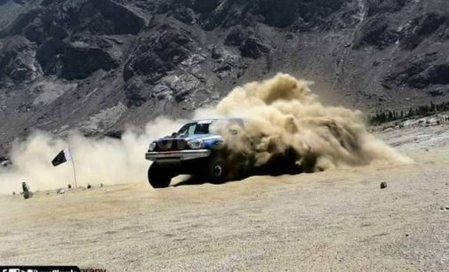 Babar Khan wins highest cold desert jeep rally in Baltistan