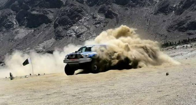 Babar Khan wins highest cold desert jeep rally in Baltistan