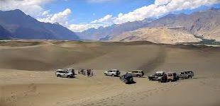 Sarfa Ranga Cold Desert Jeep Rally in Shigar on 20th