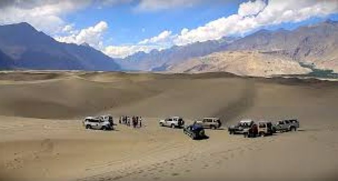 Sarfa Ranga Cold Desert Jeep Rally in Shigar on 20th