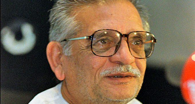 Janam Din Mubarak Gulzar saab – the legendary Oscar-winning poet, lyricist and director