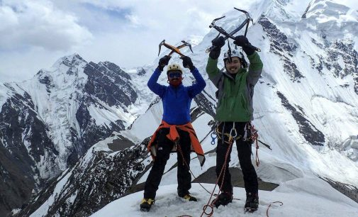 Australian, two local climbers scale peak in Shimshal