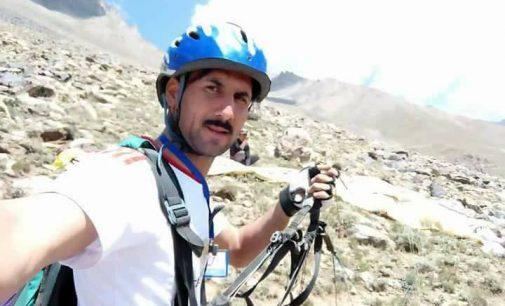 Tragic end: Noted paraglider of GB falls to death