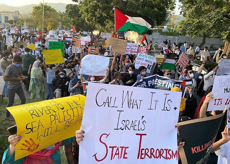 Palestinian solidarity march